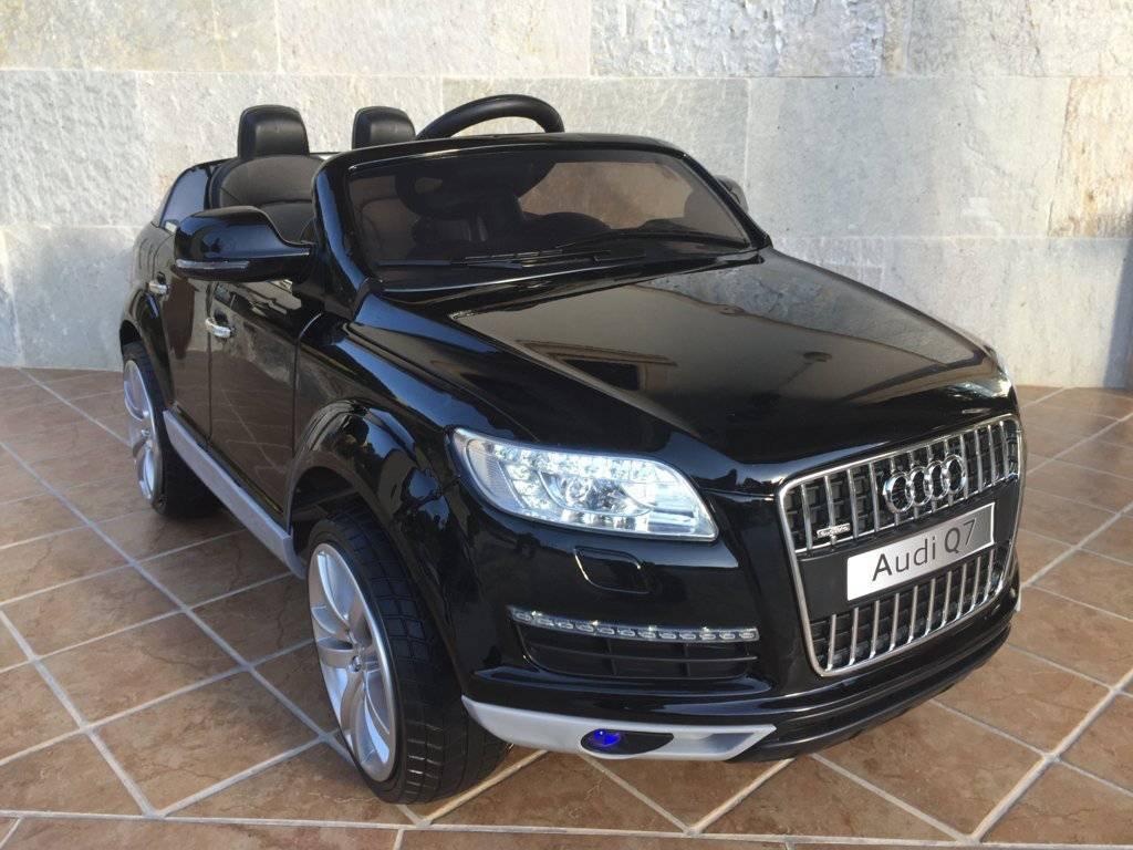 Niños Coche Negro 12v Q7 Metalizado Para Eléctrico 1p Audi 2 4g 8wn0OPkX
