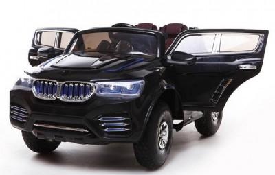 Otra novedad; Coche niños BMW X3 Style negro 12v mando rc
