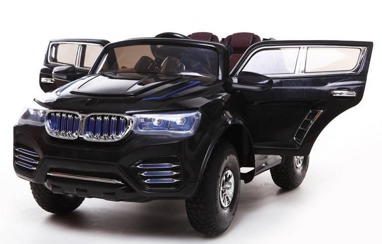 Venta-coche-ninos-BMW-X3-negro-motores-12v-rc-0cft